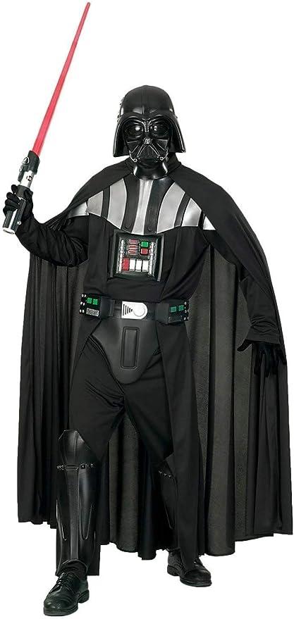 Adulto Deluxe Guanti di Darth Vader Star Wars Costume Festa Accessorio