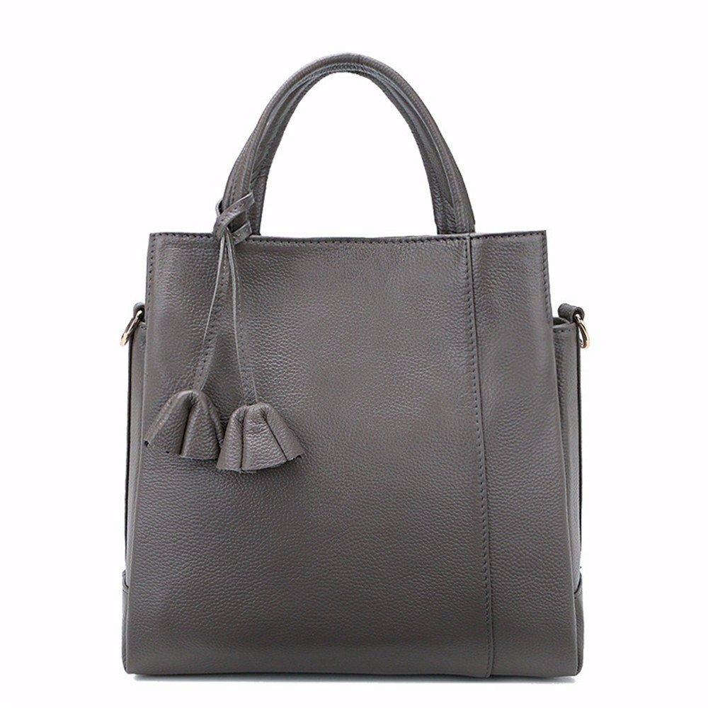 Schulter diagonal Paket mode Leder weich Bulk bag Damen Handtasche Leder Schulter diagonal Paket, 25  10  27,5 cm
