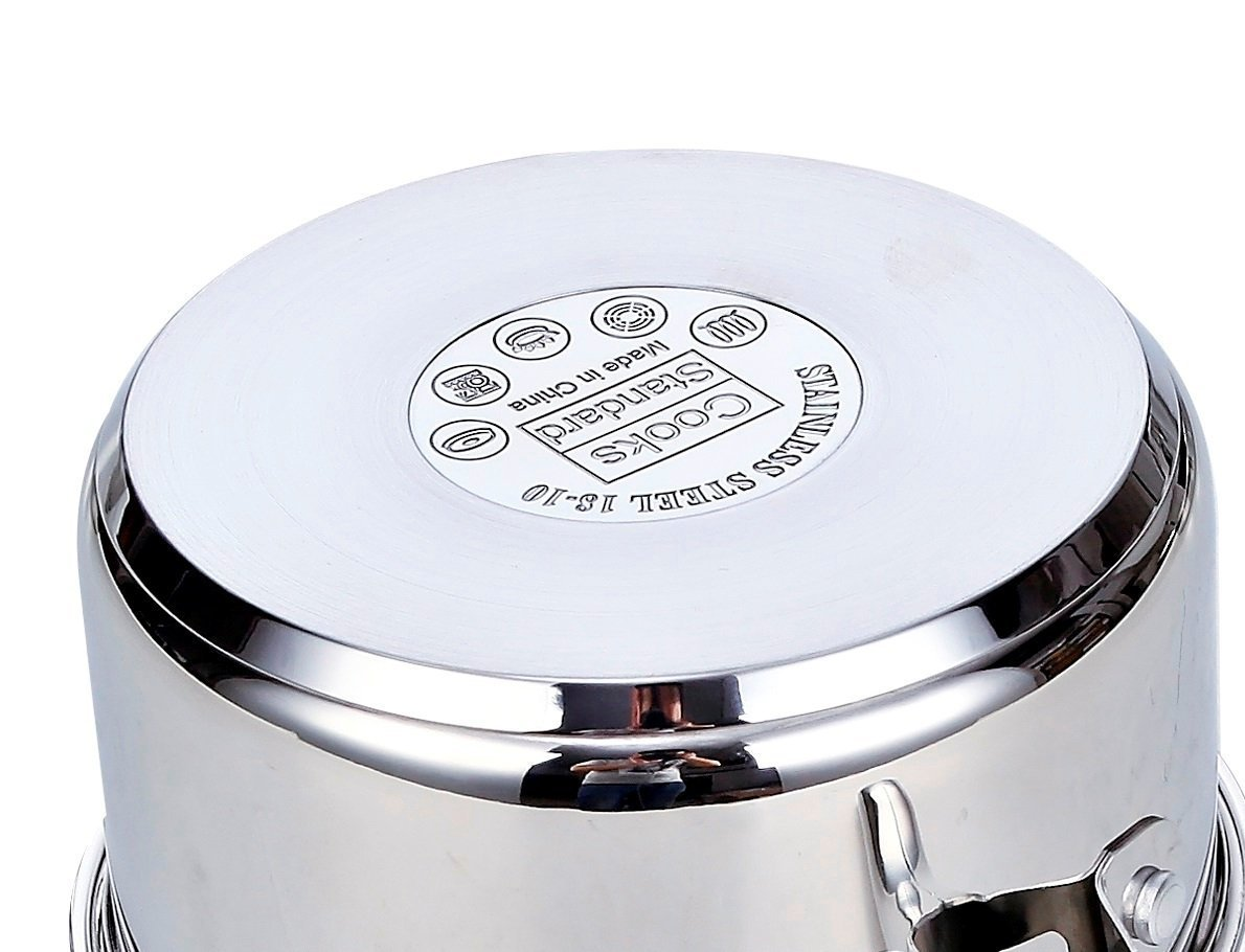 Cooks Standard 6-Quart Stainless Steel Stockpot with Lid by Cooks Standard (Image #4)