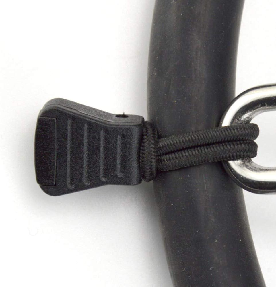 Case/&Cover 2 Pz Scuba Diving Ritenuta per Il Tubo Porta Corda Elastic Clip Bungee Rope /& Tap Bcd Buckle Ganci Attrezzatura