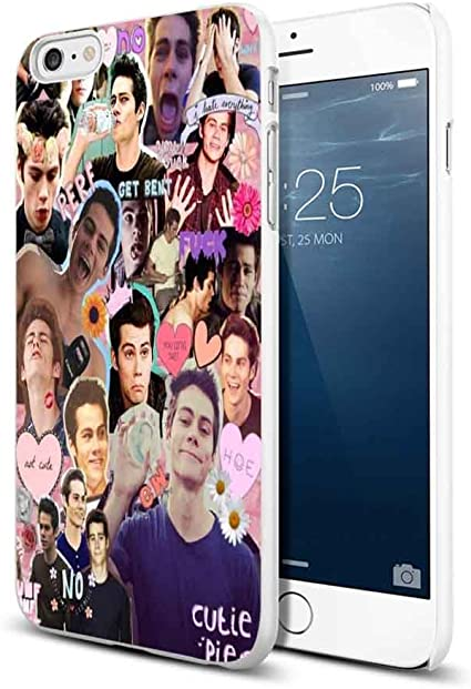 dylan o brien tumblr colage For iPhone 6 Plus/6s Plus White Case ...