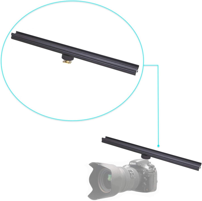 Sunset Foto 12 Flash Bracket Extension Bar Camera DSLR Mount w//Cold Shoe Adapter All Metal