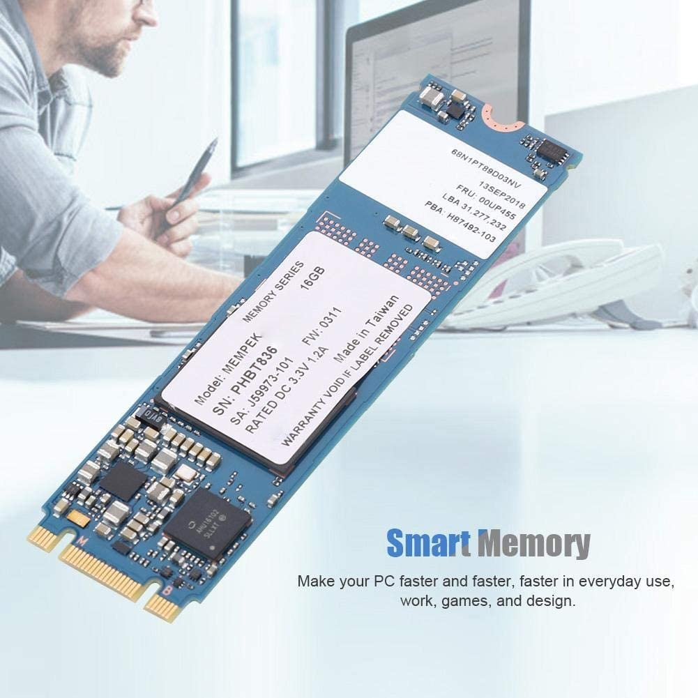 Computer Accessories for Optane Memory Module 16GB M.2 2280 3D Xpoint Memory Module