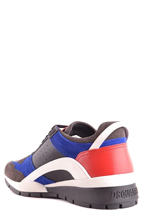 DSQUARED2 HOMME S17SN437528M227 MULTICOLORE CUIR BASKETS HPvocyUV