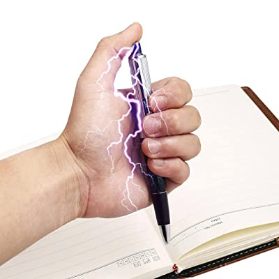 Instom Electric Shock Pen Practical Joke Gag Prank Funny Trick Fun Gadget April Fool Toy Gag Toys & Practical Jokes: Clothing