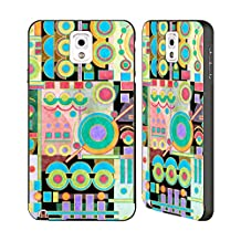 Official Shelly Bremmer Playground Geometric Black Aluminum Bumper Slider Case for Samsung Galaxy Note 3