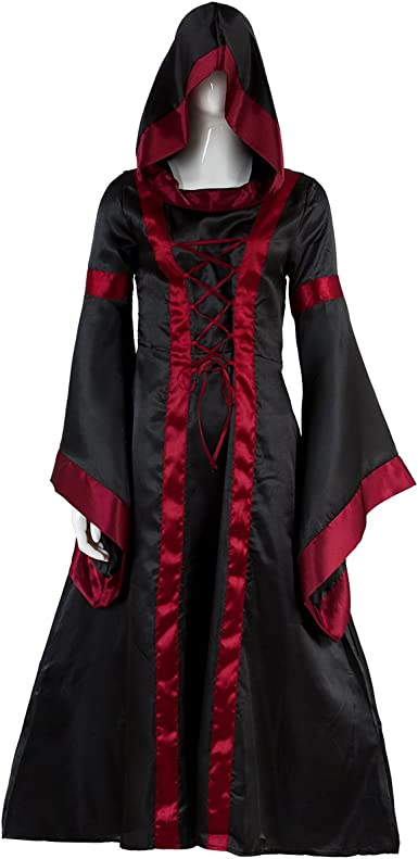 Prettycos- Traje Medieval Disfraz de Princesa Reina Medieval para ...