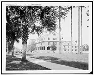 Photo: Chaudoin Hall,colleges,education,John B Stetson University,De Land,Florida,c1904