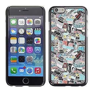 Planetar® ( Horror Art mundo impresiones Hitler Adicción ) iPhone 6 Fundas Cover Cubre Hard Case Cover