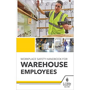 Workplace Safety Handbook for Warehouse Employees (Softbound, English, 5.25