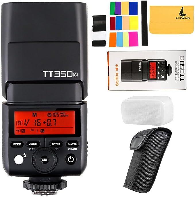 Godox Tt350c 2 4g Hss 1 8000s Ttl Gn36 Camera Camera Photo