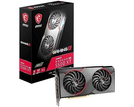 Radeon RX 5500 XT Gaming X 8G - Tarjeta gráfica Enthusiast ...