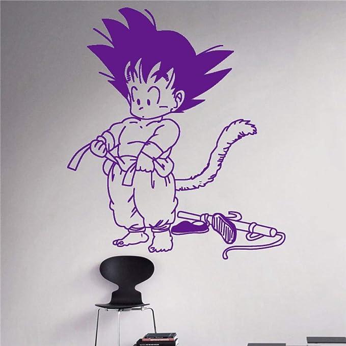 zhuziji Dragon Ball Son Goku Wall Decal Vinyl Decal s ...