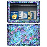 Lavender Flowers Design Protective Decal Skin Sticker (Matte Satin Coating) for Amazon Kindle Fire HDX 89 inch (released 2013) eBook Reader