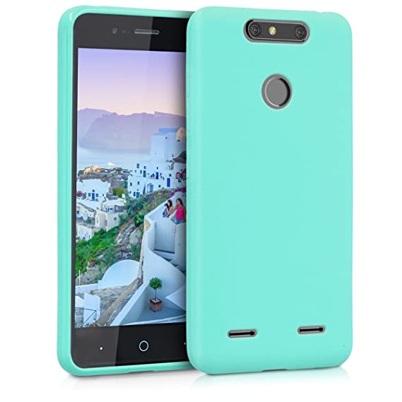best service 07a6a 85f90 Amazon.com: kwmobile TPU Silicone Case for ZTE Blade V8 Mini - Soft ...