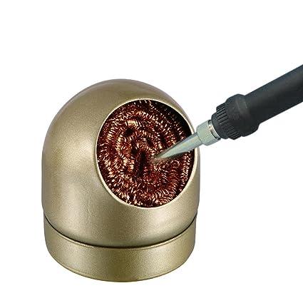 dinglong soldadura cautín Robuste Fin de soldadura herramienta limpiador soldadura soldador limpieza punta limpiador alambre de