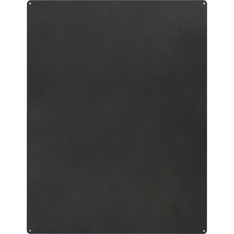 KalaMitica 25074-102-057 Tableau Magn/étique Mural Acier /Écrivable /à la Craie Anthracite 74 x 57 cm