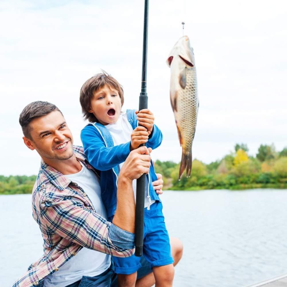 Set of 500pcs 3-12# Assorted Fishing Hooks High Carbon Steel Barbed Hooks