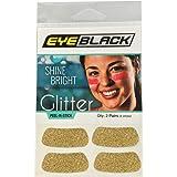 EyeBlack Gold Softball Glitter Eye Black Strips, 2 Pair