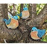 Bluebird Figurines Set Of 3 Styles 4 Inch