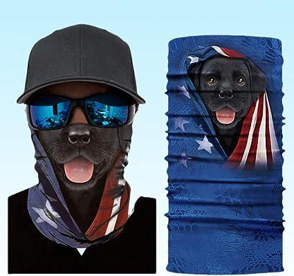 KIACIYA Multifunktionstuch Wind Face Shield Mundschutz Lustig Chopper Atmungsaktiv /& Schnelltrocknend Motorrad Gesicht Mund-Tuch Halsschlauch Halstuch Mit Motiv Maske