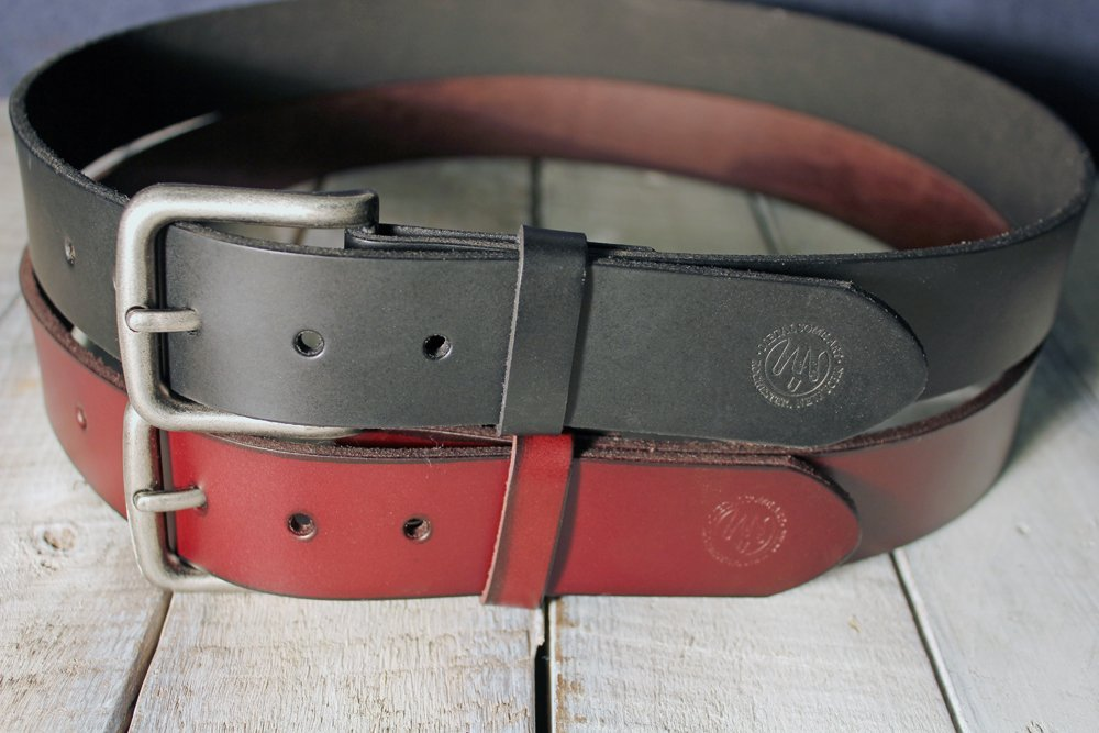 Genuine Leather Snap-On Belt for your New Belt Buckle