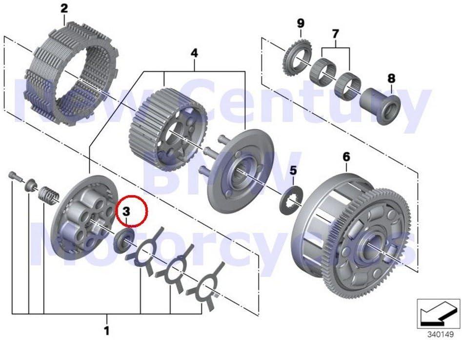 bmw hp4 wiring diagram amazon com bmw genuine motorcycle clutch single parts collar  bmw genuine motorcycle clutch