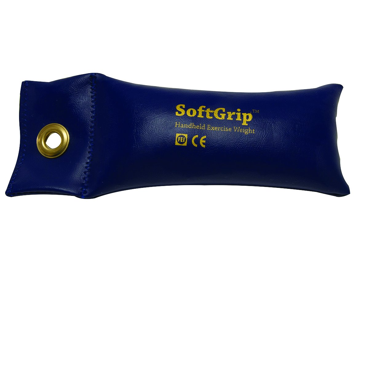 CanDo 10-0354 Soft Grip Hand Weight, 2.5 lb, Blue by Cando
