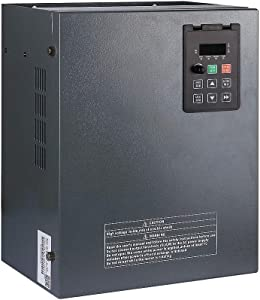 LAPOND High Performance VFD Inverter VFD Drive 10HP 7.5KW 220V 32A,Variable Frequency Drive for Motor Speed Control,V8 Series(7.5KW)