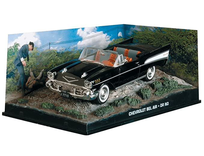 007 James Bond Car Collection #33 Chevrolet Bel Air (Doctor No)