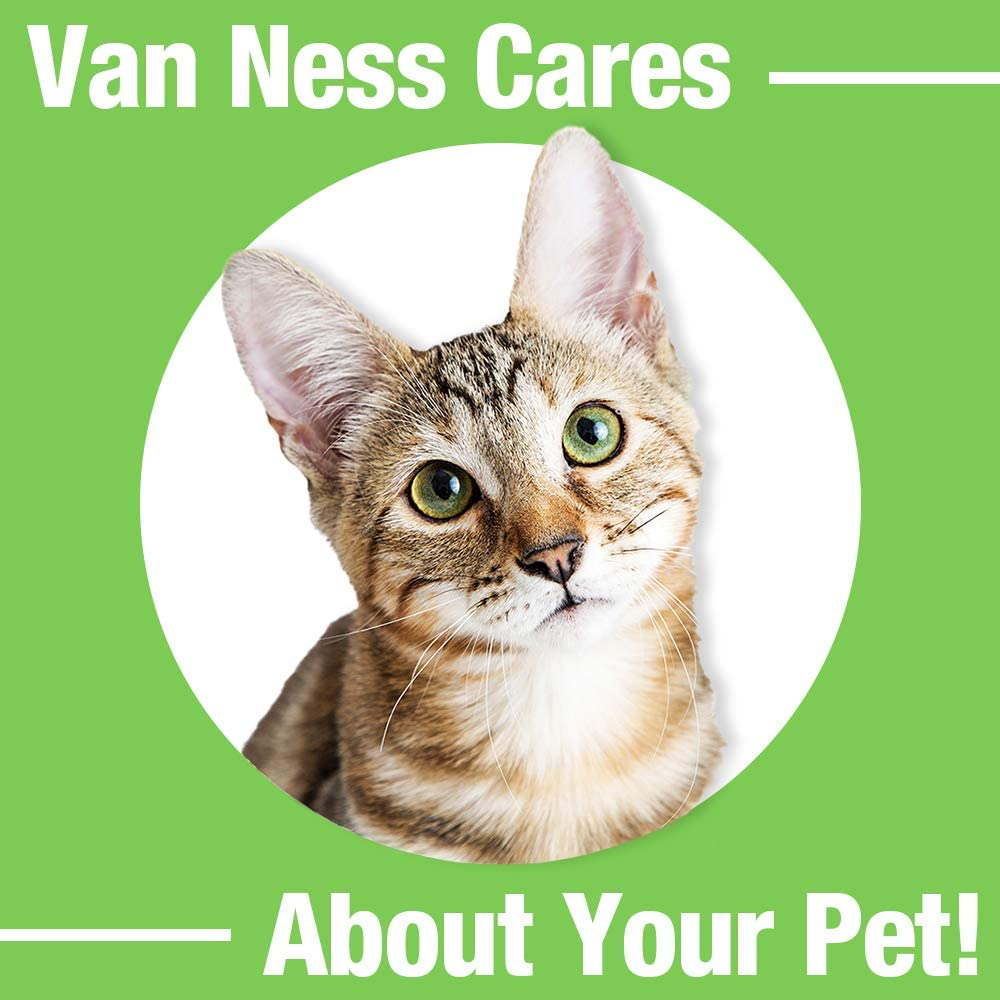 Assorted Colors New Fast Free Ship Van Ness ECOWARE Cat Dish 8 Ounce