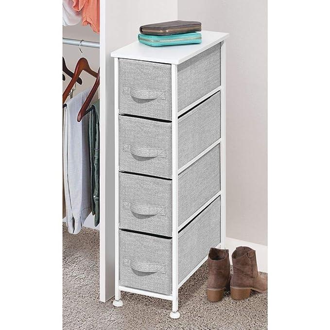 Amazon.com: MDesign - Organizador vertical para aparador, 4 ...