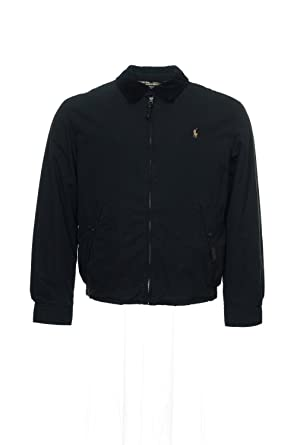 Polo Ralph Lauren Shelburne Windbreaker Jacket, Black (XXL, Polo Black)