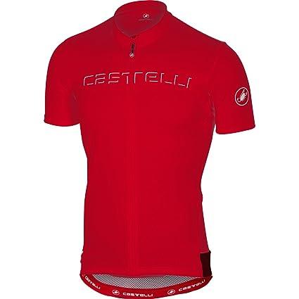 4c999c3d5 Amazon.com   Castelli 2017 Men s Prologo 5 Short Sleeve Cycling ...