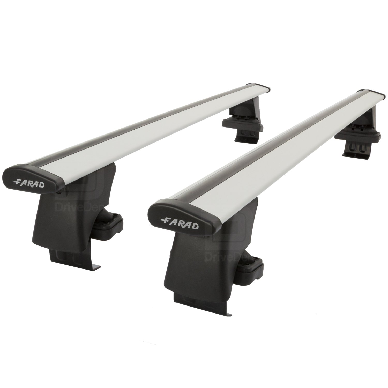 Farad Pro FA-ALU-159 Aluminium Silver Wing Roof Bar Set (Normal Roof)