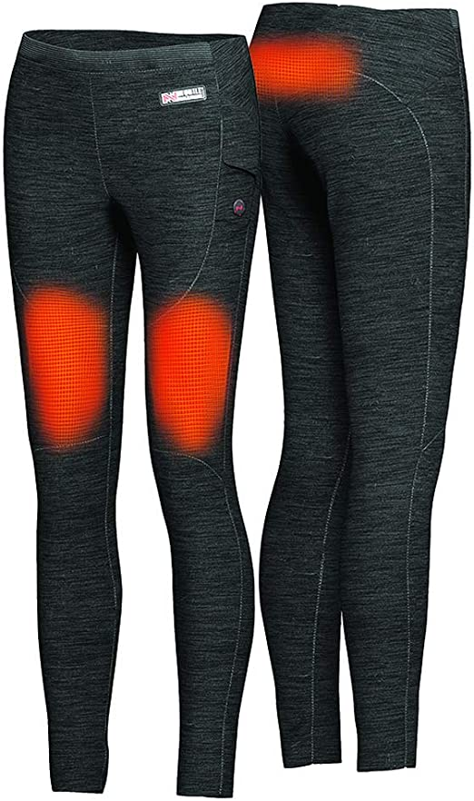 Mobile Warming Women/'s Heated Bluetooth Black Ion Pant