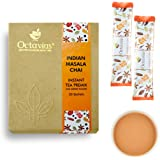 Octavius Rich Indian Masala Ready Tea Mix Economy Pack with Exotic Cardamom, Ginger, Clove, Black Pepper and Cinnamon Flavours and No Added Sugar (50 Single Serve Sachet)