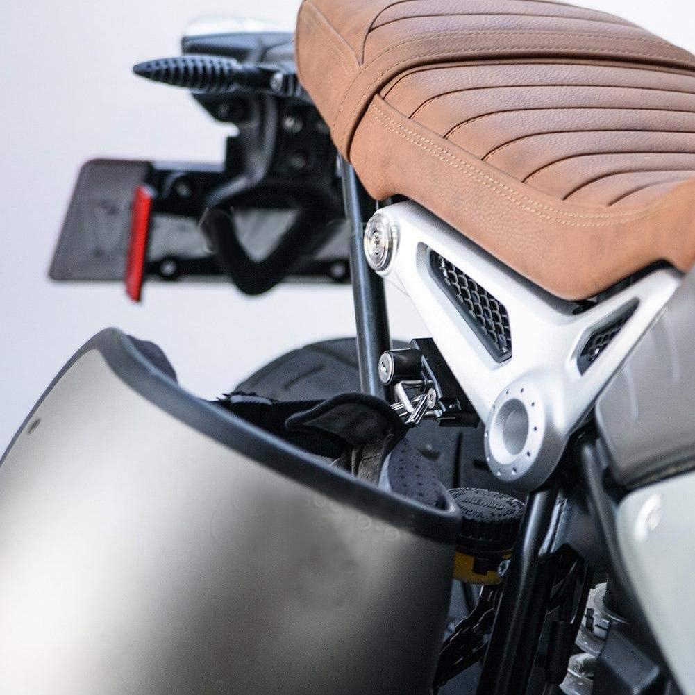 Kimiss Motorrad Rechtsseitige Legierung Helm Schloss Haken Für R Nine T Modelle 2017 2018 Auto