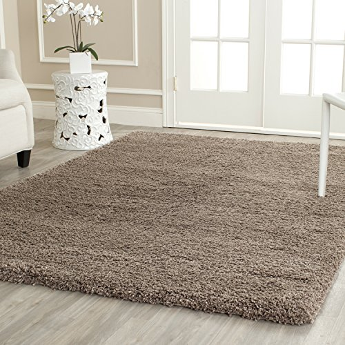 Safavieh California Shag Collection 4' x 6' Area Rug, Taupe