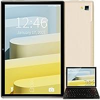 Tablet 10 inch Android 10, 4 GB RAM, 64 GB ROM/128 GB uitbreidbaar, Quad-Core, 5G WiFi Tablet met toetsenbord, HD IPS…