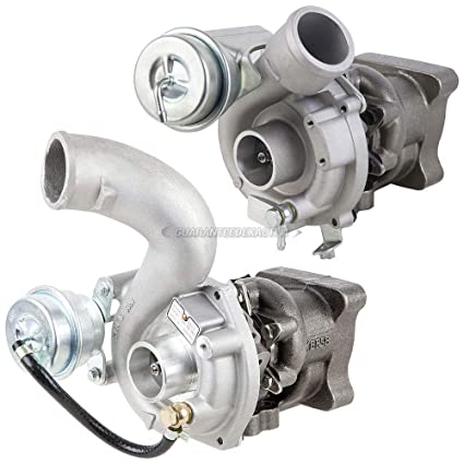 Pair Turbo Kit With Turbocharger Gaskets For Audi A6 S4 & Allroad Quattro 2.7TT -