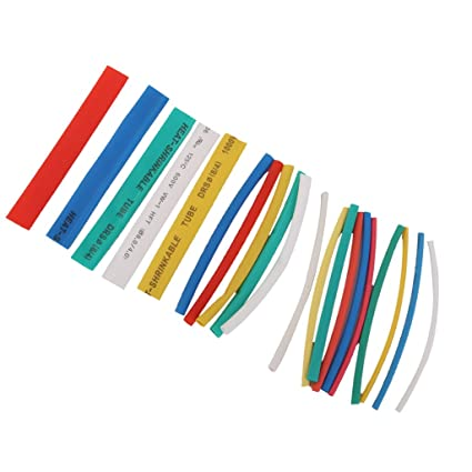 Tremendous Generic 20Pcs Pvc Heat Shrinkable Tubing Wire Cable Sleeve 4 Sizes 5 Wiring Cloud Oideiuggs Outletorg
