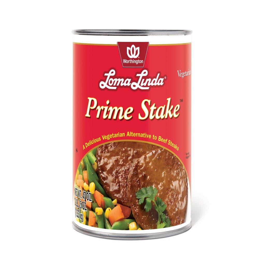 Loma Linda - Vegetarian - Prime Stakes (47 oz.) - Kosher by Loma Linda