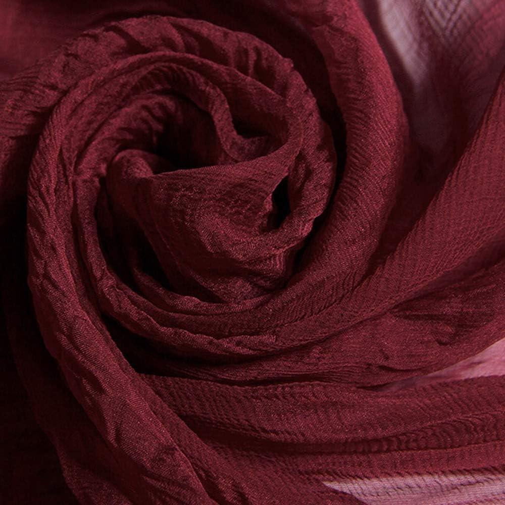 Lunga Scarf Morbida Colore Puro Scialle per Ladies Wrap Shawl Abiti da Sera Matrimoni Feste Spose Damigelle dOnore Gift Viaggio Prom 107 185,Rosa