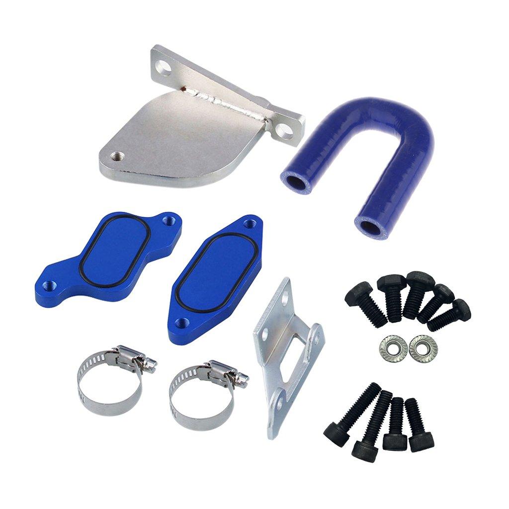 MagiDeal EGR Valve Cooler Kit FOR GMC Chevy 6.6L Duramax LML Diesel 2007-2010