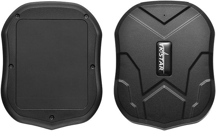 Dorato MINI TKSTAR GPS Magnetico Mini OBD Cablaggio Cavo Rilevatore per Auto Furgone Motocicletta Bambini Oap Fleet Taxi