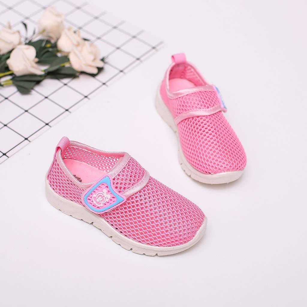 Toddler Kids Baby Boys Girls Mesh Cartoon Sneakers Sport Run Casual Shoes by VEZAD (Image #4)