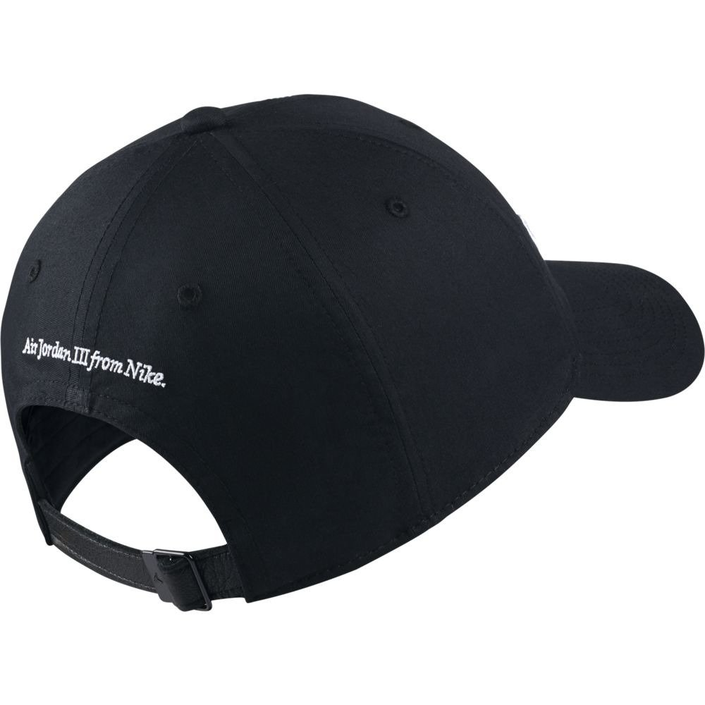4e415c084b84 Amazon.com  Nike Mens Jordan Heritage H86 Do You Know  Hat Black White  AA3790-010  Sports   Outdoors