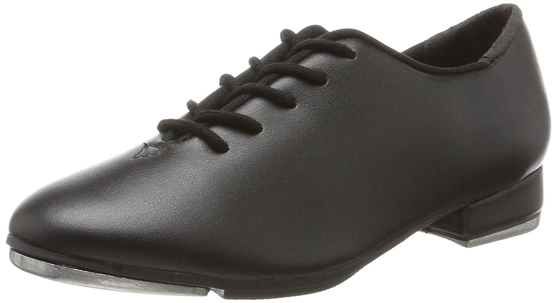 So Danca Ta04/05, Zapatos de Claque Unisex Niños Negro (Black) 28 EU