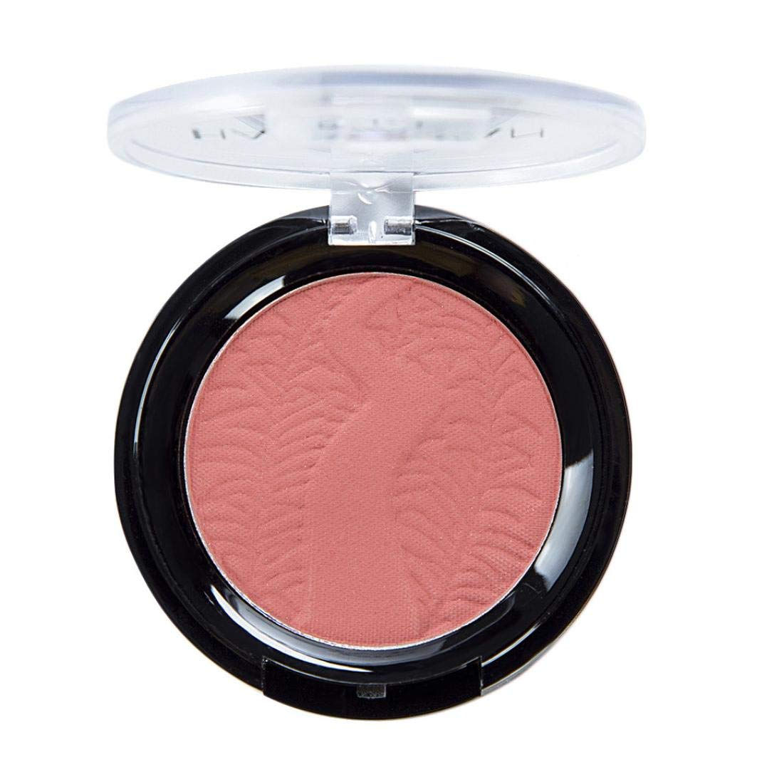 6 Color Blush Palette,Natural Mineral Powder Blend,for Radiant Glow Blush,Pink Long Lasting Magic Finish Formula for Face Cheek Glow (E)